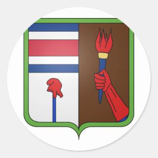 Arms Alajuela, Costa Rica Classic Round Sticker