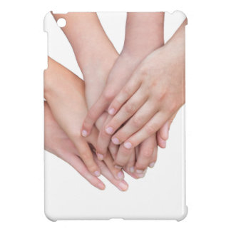 Arms of girls hands on each other iPad mini cases