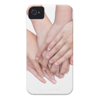 Arms of girls hands on each other iPhone 4 covers