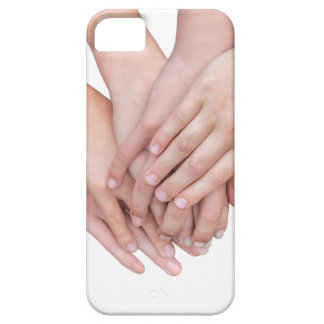 Arms of girls hands on each other iPhone 5 cases