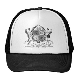 Arms of Grand Lodge of England Trucker Hat
