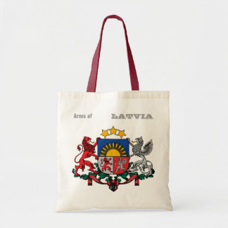 Arms of LATVIA Tote Bag