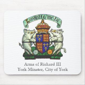 Arms of Richard III Mousepad