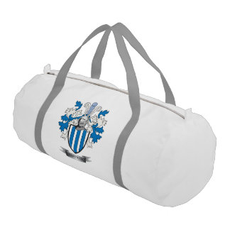 Armstrong Family Crest Coat of Arms Gym Bag