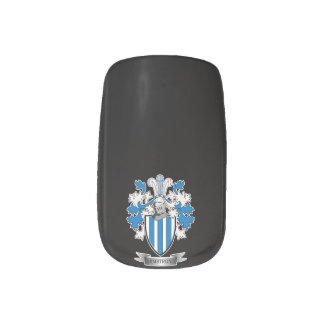 Armstrong Family Crest Coat of Arms Nail Stickers