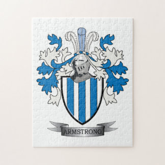Armstrong Family Crest Coat of Arms Puzzle