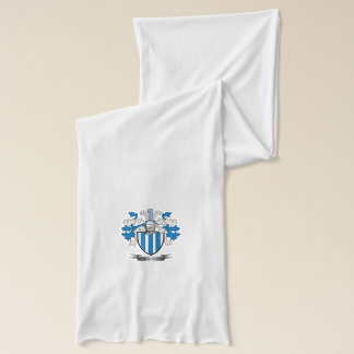 Armstrong Family Crest Coat of Arms Scarf