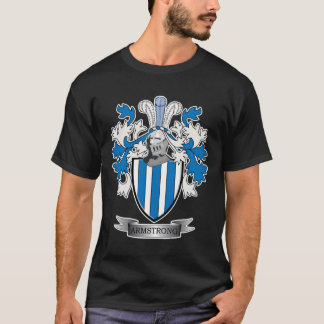 Armstrong Family Crest Coat of Arms T-Shirt