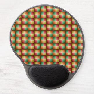 Armure de couleur de chute tapis de souris gel