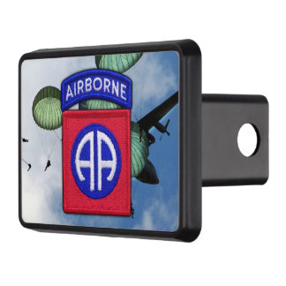 army 82nd airborne nam war veterans vets tow hitch cover