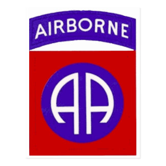 Army 82nd Airborne Postcard