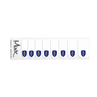 Army 8th ID Infantry Patchfinders Veterans Vets Minx Nail Art