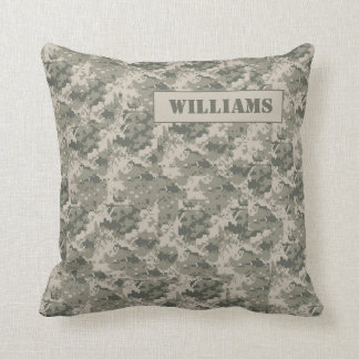 ARMY ACU Camoflauge Digital Couch Throw Pillow