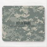 Army ACU Camouflage Customizable Mousepad
