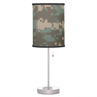 Army ACU Camouflage Table Lamp