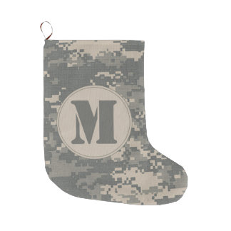ARMY ACU Digital Camo Camouflag Christmas Stocking