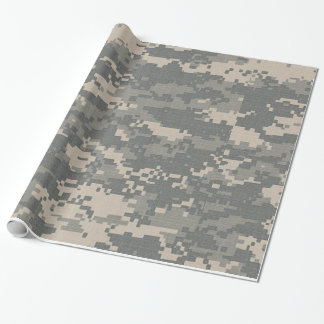 ARMY ACU Digital Camo Camouflage Wrapping Paper