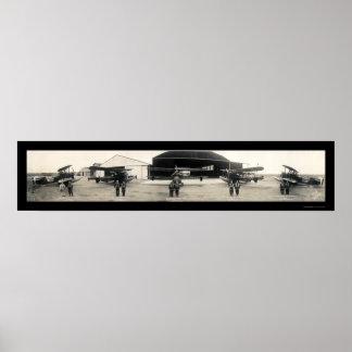Army Air Core Pilot Seaplane Plane 1927 Poster