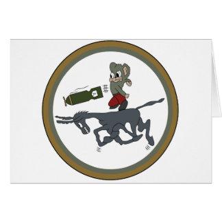 ARMY AIR CORPS 464th BG Squadron Greeting Card