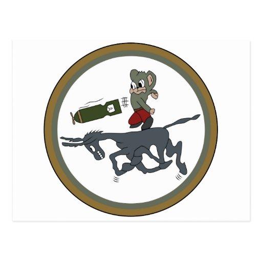 ARMY AIR CORPS 464th BG Squadron Postcard
