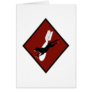 ARMY AIR CORPS 53rd Bomb Squadron Greeting Card