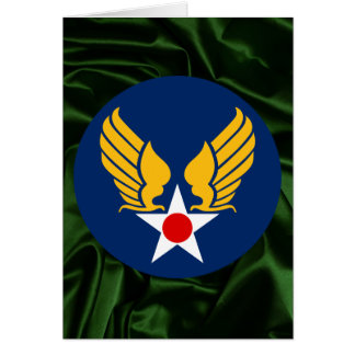 Army Air Corps Greeting Card