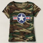 Army Air Corps Vintage Camo Shirt