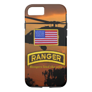 Army airborne rangers veterans vets tab iPhone 8/7 case