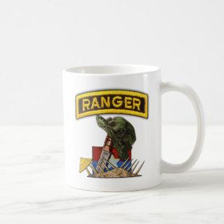Army Airborne Rangers Veterans Vietnam Nam War Classic White Coffee Mug