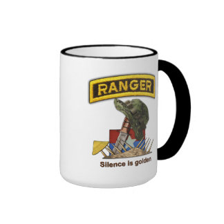 Army Airborne Rangers Veterans Vietnam Nam War Ringer Coffee Mug