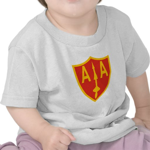 Army Anti-Aircraft Command T-shirts