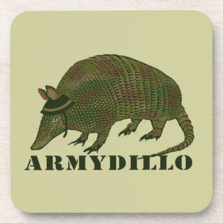Army Armadillo Item Drink Coaster