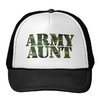 Army Aunt Trucker Hat