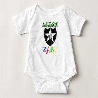 Army Baby 2nd ID Patch Baby Bodysuit