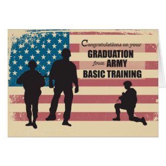 Army Basic Training Graduation, Military Soldiers Card