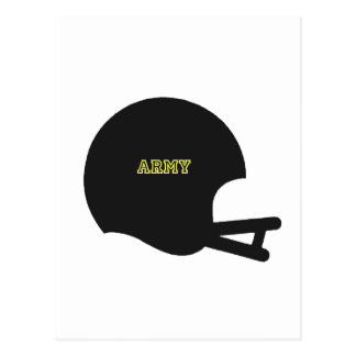 Army Black Knights Vintage Football Helmet Logo Postcard