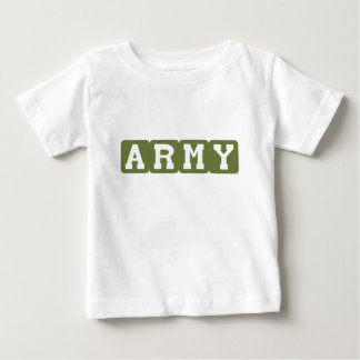 Army Blocks (Green) Baby T-Shirt