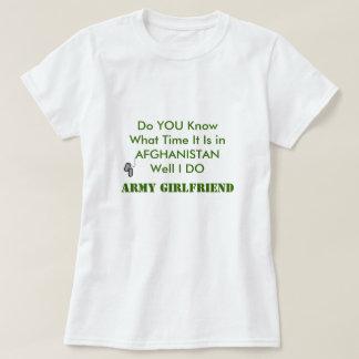 Army Boyfriend in AFGHANISTAN T-Shirt