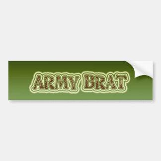 Army Brat Bumper Sticker