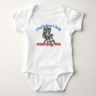 Army Brat - How I Roll Baby Bodysuit