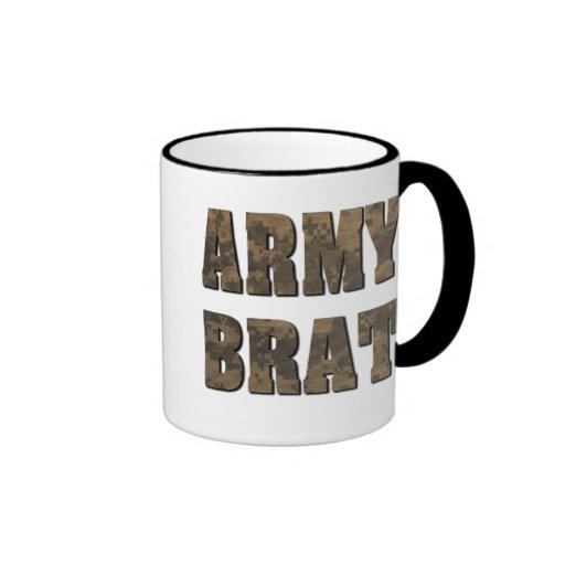 Army Brat in Camouflage Mug
