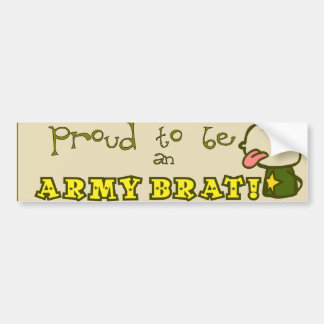 Army Brats! Bumper Sticker