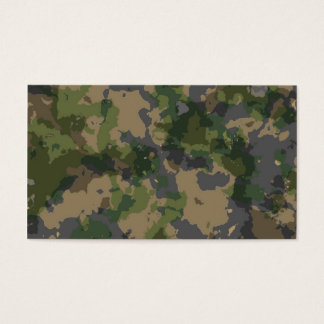 Army Camo Business Card