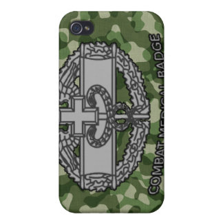 Army Camo Combat Medical Badge iPhone 4/4S Case