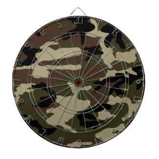 army camo pattern camouflage print military dartboard