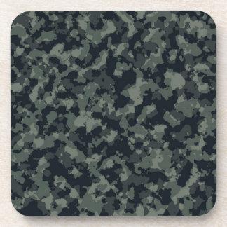 Army Camouflage Camo Design Beverage Coasters