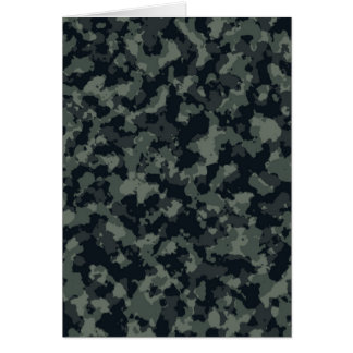 Army Camouflage Camo Design Card