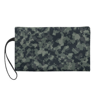 Army Camouflage Camo Design Wristlet Clutch