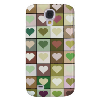 Army camouflage color Heart pattern
