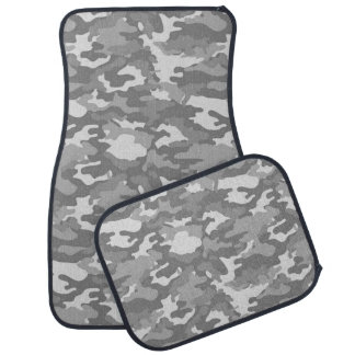 Army Camouflage (Grey Color) Car Mats Car Mat